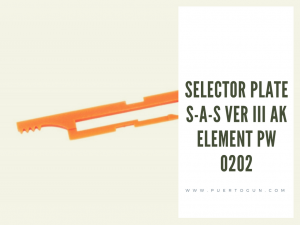 SELECTOR PLATE S-A-S VER III AK ELEMENT PW 0202