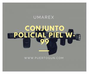 - Conjunto Policial Piel W-99
