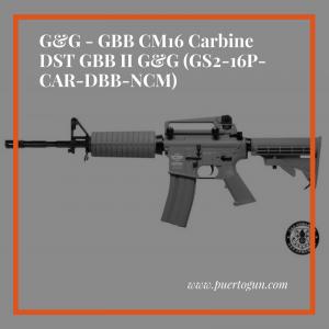 G&G - GBB CM16 Carbine DST GBB II G&G (GS2-16P-CAR-DBB-NCM)