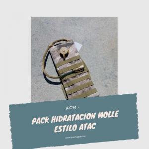 Pack Hidratacion molle Estilo atac