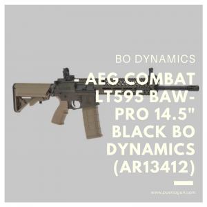 - AEG COMBAT LT595 BAW-PRO 14.5- BLACK BO DYNAMICS (AR13412)
