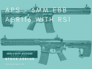 APS - 6mm EBB ASR116 with RS1 Stock asr116R