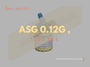 ASG 0.12g , 1000 pcs