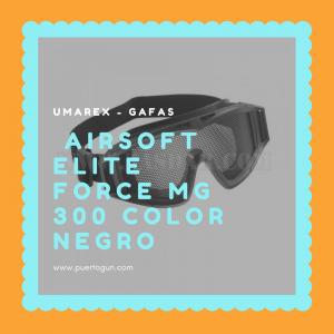 Airsoft Elite Force MG 300 Color Negro