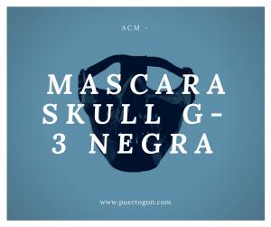 MASCARA SKULL G-3 NEGRA