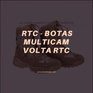 RTC - BOTAS MULTICAM VOLTA RTC