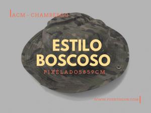 estilo Boscoso Pixelado5859cm