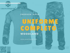 uniforme completo woodland